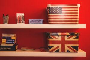 イギリスとアメリカ